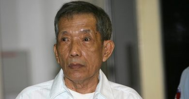 Khmer Rouge's chief jailer, guilty of war crimes, dies at 77